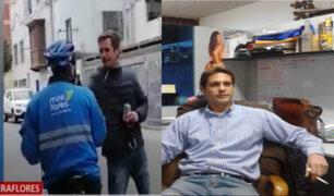 Miraflores: sujeto que agredió a sereno sumó tres denuncias a su historial