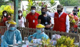 Ministro Jorge Chávez supervisó campaña de salud y entregó medicinas en el Vraem