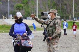 Chorrillos: continúa restringido el ingreso a las playas de la Costa Verde