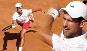 Novak Djokovic jugará su décima final en Roma
