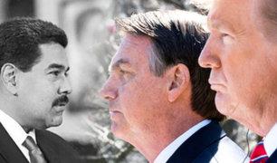 Bolsonaro ratifica su alianza con Trump para luchar contra el régimen de Maduro