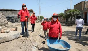 Trabaja Perú genera más de 53 mil empleos temporales a nivel nacional