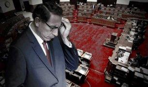 Martín Vizcarra: ¿Congreso podría ejecutar un nuevo proceso de vacancia presidencial?