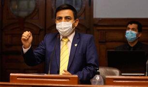 Parlamentario César Gonzáles Tuanama renuncia a la bancada de Somos Perú