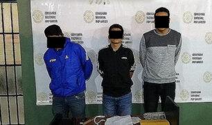 Tres extorsionadores de un conocido empresario fueron condenados en Trujillo