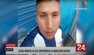 Huacho: sujeto ataca con machete a expareja por no querer retomar relación amorosa