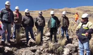Retoman proyecto de riego que mejorará la producción agrícola en el Cusco
