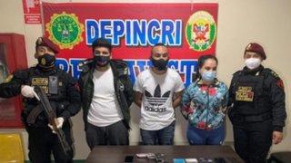 Callao: PNP capturó banda de raqueteros liderada por una mujer
