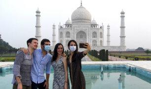La India: reabren el Taj Mahal tras seis meses de cierre por pandemia