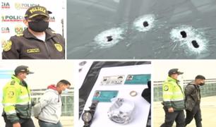 Chorrillos: ladrones son capturados por agentes PNP tras balacera