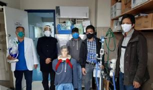 Oxigenador de la UNI obtiene autorización para su fabricación y uso masivo