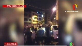 El Agustino: Familiares y vecinos de conductor ebrio atacan policías