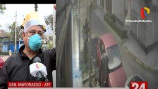 Ate: Vecinos hartos de constantes robos en Urbanización Mayorazgo