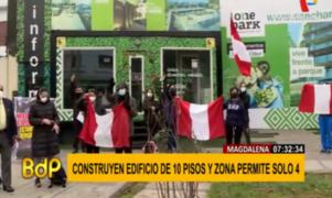Magdalena: piden revocar permiso de construcción de edificio de más de 10 pisos