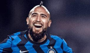 Arturo Vidal ahora vestirá el número 22 en el Inter de Milán