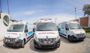 Arequipa: ambulancias compradas por Gobierno Regional estarían circulando sin documentos