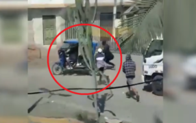 VIDEO: captan violento robo a trabajadores de Sedapal