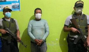 Puno: cae 'Pablo Escobar de Sandia' que registra requisitorias por tráfico de drogas