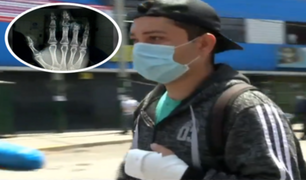 La Victoria: venezolano perdió dedo en accidente laboral y empleador no se hace cargo