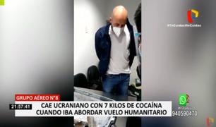 Callao: detienen a extranjero que pretendía sacar droga en vuelo humanitario