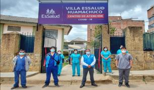 La Libertad: inauguran Villa de EsSalud Huamachuco para atención de pacientes COVID-19