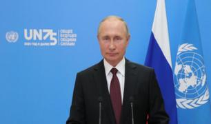 Putin ofrece gratis la vacuna rusa contra el coronavirus a la ONU