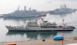 Marina de Guerra se pronuncia sobre presunta pesca ilegal de naves chinas