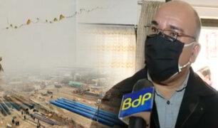 Denuncian daños en viviendas por obras de la Línea 2 del Metro de Lima