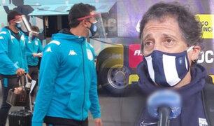 Racing llegó a Lima para enfrentar a Alianza por la Libertadores