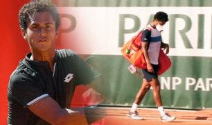 """Peruano Juan Pablo Varillas fue eliminado en la """"qualy"""" de Roland Garros"""