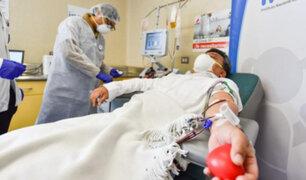 Covid-19 en Perú: inician ensayo clínico con plasma convaleciente para tratar a pacientes