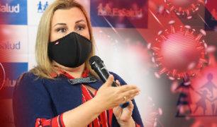 """Fiorella Molinelli: """"En EsSalud estamos preparados para enfrentar una segunda ola de contagios"""""""
