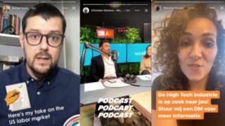 LinkedIn: aplicación adaptó stories al igual que Instagram y Snapchat