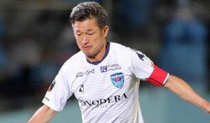 Japón: Kazuyoshi Miura rompió récord y es el futbolista más longevo con el Yokohama FC