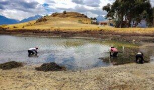 Áncash: unen esfuerzos para limpiar laguna de Willcacocha