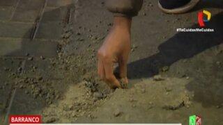 Barranco: pista de Av. Alfonso Ugarte continúa pelándose