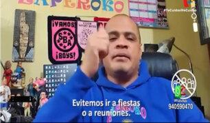 Minsa había apostado por Jhonny Peña, líder de Zaperoko, en la lucha contra el coronavirus
