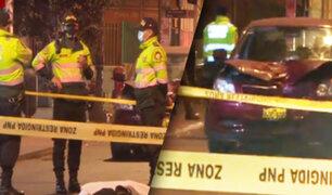 Conductor que manejaba a excesiva velocidad mata a un hombre en Breña