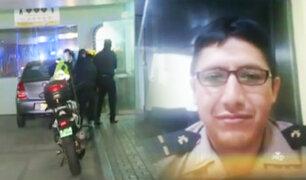 Detenido asesina de dos balazos a policía en comisaría de Orrantia