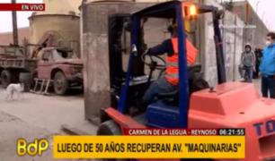 Carmen de la Legua: empresa se apropió durante medio siglo de un tramo de Av. Maquinarias