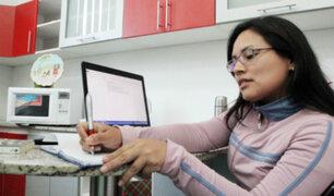 Trabajo remoto: empresas serán multadas si incumplen con descansos de trabajadores