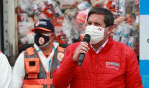 Ministro Jorge Chávez: Marina realiza patrullaje para garantizar  muestra soberanía
