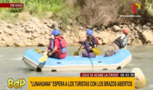 Lunahuaná: así se reinauguró oficialmente el canotaje y deportes de aventura
