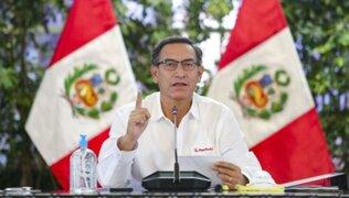 """Vizcarra insiste en declarar antes por caso Swing: """"El jueves mandé un oficio a la fiscal"""""""