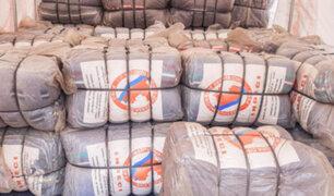 Huánuco: envían 27 toneladas de ayuda para familias vulnerables por bajas temperaturas