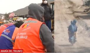 VMT: mafias de construcción civil hirieron de bala a obrero municipal