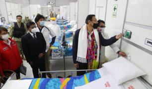 Presidente Vizcarra puso en marcha Centro de Atención Covid-19 en Tacna