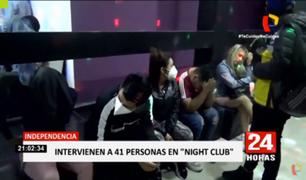 Independencia: siguen las fiestas clandestinas en plena emergencia sanitaria