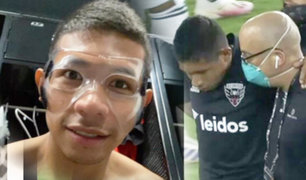 Edison Flores volvió a los entrenamientos del DC United