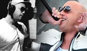 "Vin Diesel incursiona en la música con ""Feel Like I Do"""